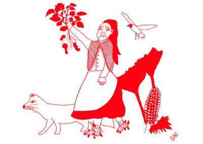Exposición Brigada de Mujeres de Chiloé